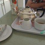 Lovely cutlery & teapot!