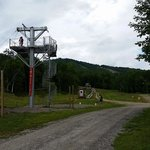 Zip line and Disc Golf Course