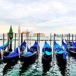 gondolas waiting to start the day
