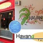 Havana exterior, interior, Mckenna food guide award and logo