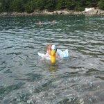 чистое прозрачное море