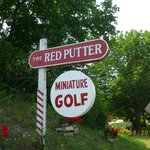 Red Putter Mini Golf