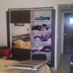 the broken wardrobe