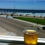 Great beer selection and an amazing view!