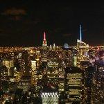 Night Views from Rockefeller Centre