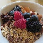Breakfast what a treat.