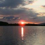 Sunset over Oban Bay