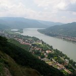 Bautiful view of the Danube