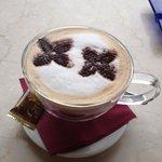 Large coffee! yum