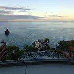 Evening balcony pic