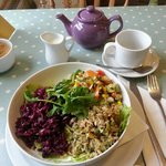 Three salads - absolute perfection!