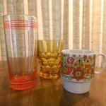 Retro glassware!