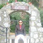 Myself At the Ruby Falls