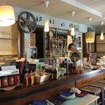 Il bar....molto accogliente...