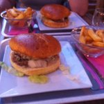 burger roquefort supplement frites