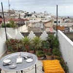 roof terrace view