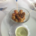 anchovy fried stuffed olives