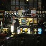 Emma at the bar