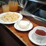 patate al forno e sangria di sidro di mele