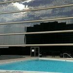Rooftop pool, very nice, although music is a little loud