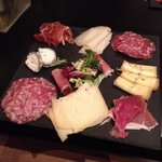 Assiette charcuterie/fromages
