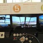 simulador da diferença dos carros nas gerações da NASCAR