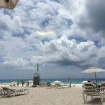 Beach From Cabana