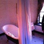Bathroom before sludge bath