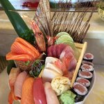 Sushi and Sashimi combo for 1!