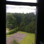 gap in glass pane