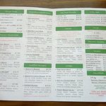 Check out the menu