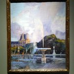 One of the paintings on display for the Tuileries exhibition, by Gaston de la Touche, c. 1890 -