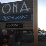 The Elf Eats at Ona