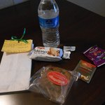 Personalized Gift Bag. Water & Snacks