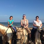 S-n-G Horseback ride on the beach
