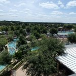 View from the Water slides tower.