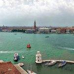 Vista paorâmica de Veneza vista da Chiesa.