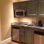 kitchenette in suite 1