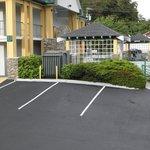 Quality Inn pool area