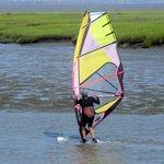 Windsurfing - Lucy Evans Interpretive Center Area, Palo Alto, Ca