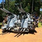 anti aircraft guns Bowfin