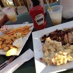 Fish & chips / chicken
