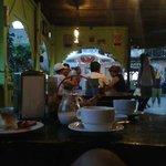 Postre, Cafe grande+rico, Batido de fresa!