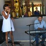 Musica en vivo en el Gaby beach