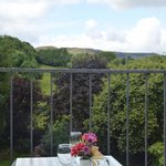 View from Balcony at Burke's Bar & Restaurant , Clonbur