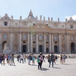 St Peter's Square and Basilica - just amazing inside