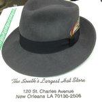 Grey Capas Lite Felt Indiana Jones Wool Felt Hat