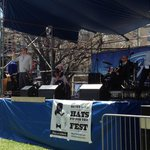 Meyer The Hatter sponsors the Panorama Jazz Band at the French Quarter Festival