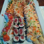 Thats alot of sushi...