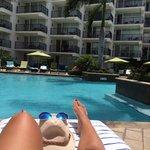 Bronze na melhor piscina do Marriot Aruba Resort&Stellaris Cassino